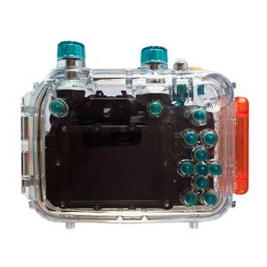 Canon Unterwassergehäuse Rückseite